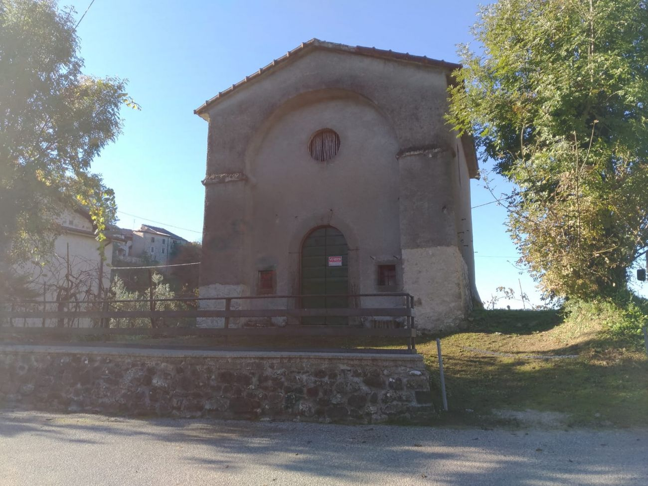 "VILLAFRANCA L. – ANCIENT ORATORY ""AIA DEL GOGGIO"" TO BE TRANSFORMED"